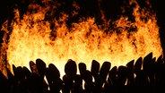 Das olympische Feuer © picture alliance / dpa Foto: Michael Kappeler