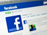 """Ausschnitt aus einer Internetseite des sozialen Netzwerkes """"Facebook"""" © picture-alliance Fotograf: Sven Simon"""