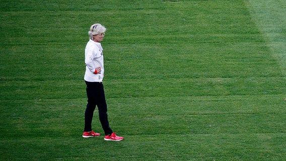 Siliva Neid vor ihrem letzten Spiel als Bundestrainerin © Thomas Luerweg Foto: Thomas Luerweg