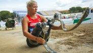 Leichtathletin Vanessa Low © picture alliance / NurPhoto Fotograf: Mauro Ujetto