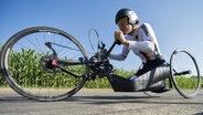 Radsportlerin Dorothee Vieth © picture alliance / dpa Fotograf: Urs Flueeler