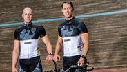 Die Radsportler Stefan Nimke (r./Pilot) und Kai-Kristian Kruse © imago/Felix Jason