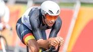 Der deutsche Radsportler Michael Teuber © Oliver Kremer / DBS Fotograf: Oliver Kremer