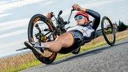 Die deutsche Radsportlerin Christiane Reppe © imago/Felix Jason