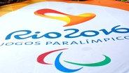 Das Logo der Paralympics von Rio 2016 © picture alliance / maxppp