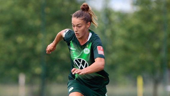 Fußballspielerin Felicitas Rauch vom VfL Wolfsburg